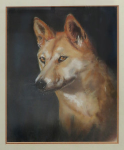 Bette Franke -Dingo -best pastel