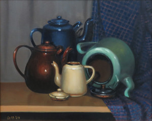 Carol James -Enamel Ware -best oil